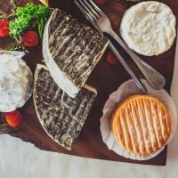 Assiette de fromages d'Auvergne